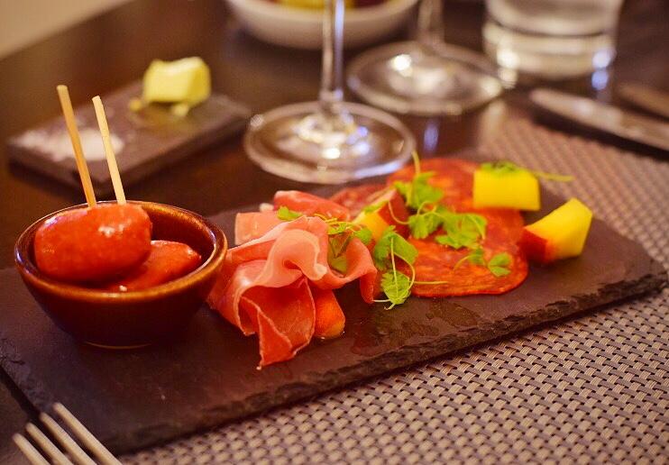 Summer menu chez mal Malmaison glasgow