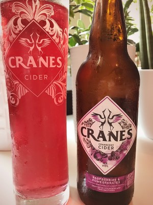 Cranes Cranberry Cider Review
