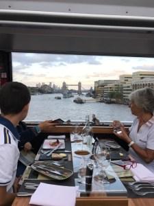 Bustronome gastronomic bus tour London