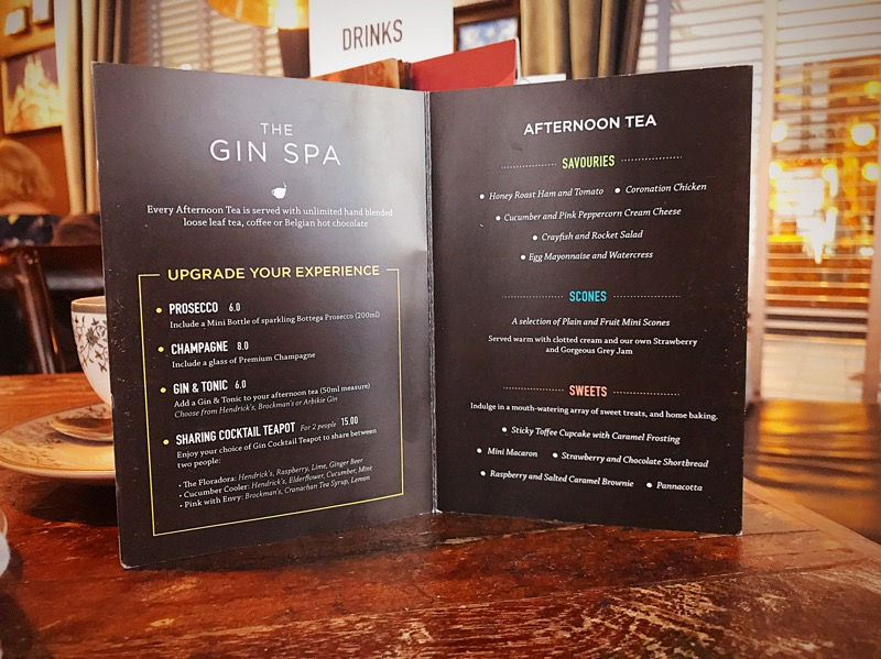 The gin spa gin71 luxury day out Glasgow