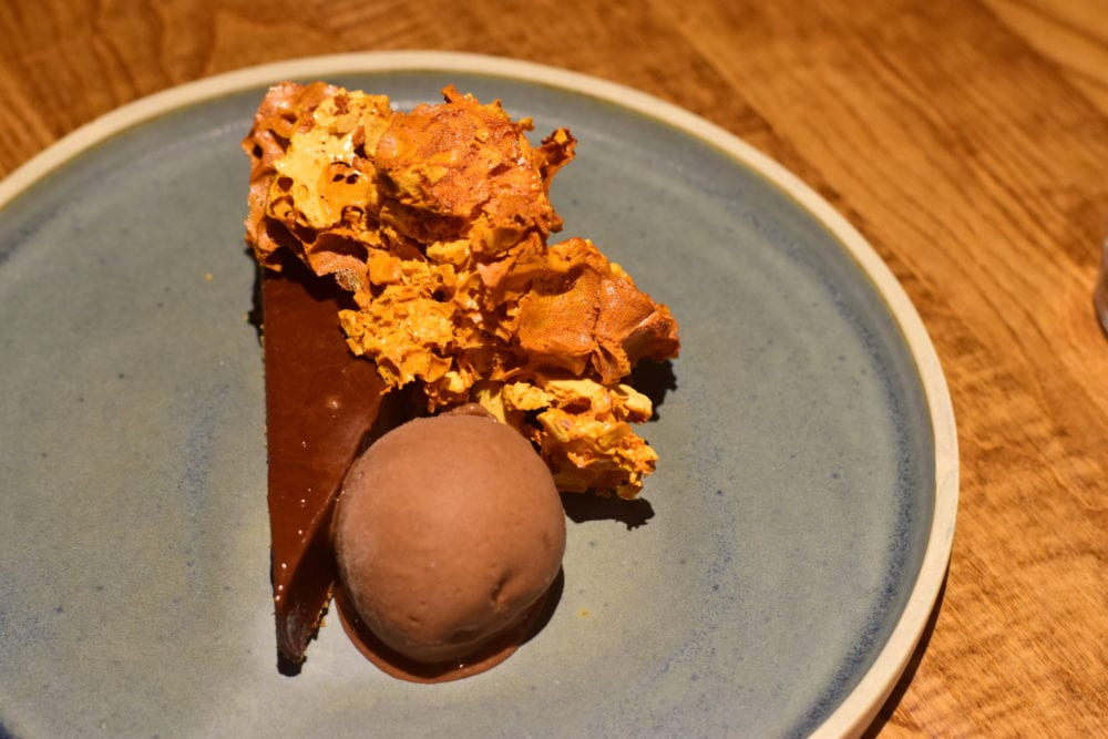 Bridge of Orchy hotel food dessert