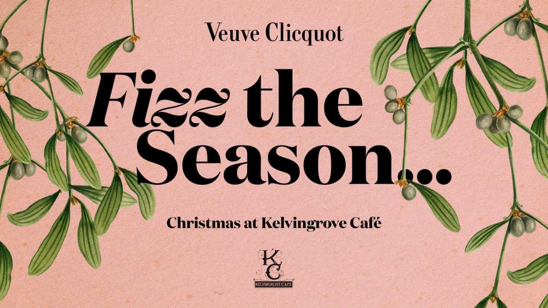 Kelvingrove cafe Veuve Clicquot