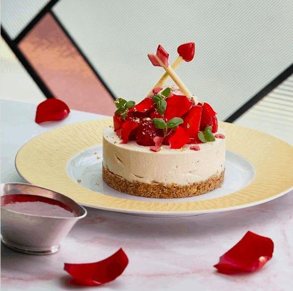 the ivy restaurants valentines day sharing dessert