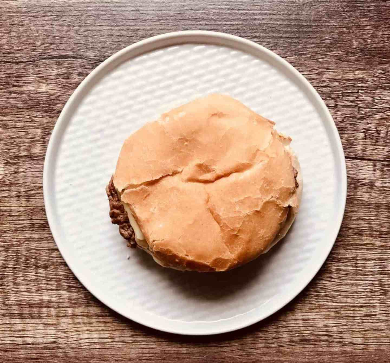 McDonald's copycat cheeseburger