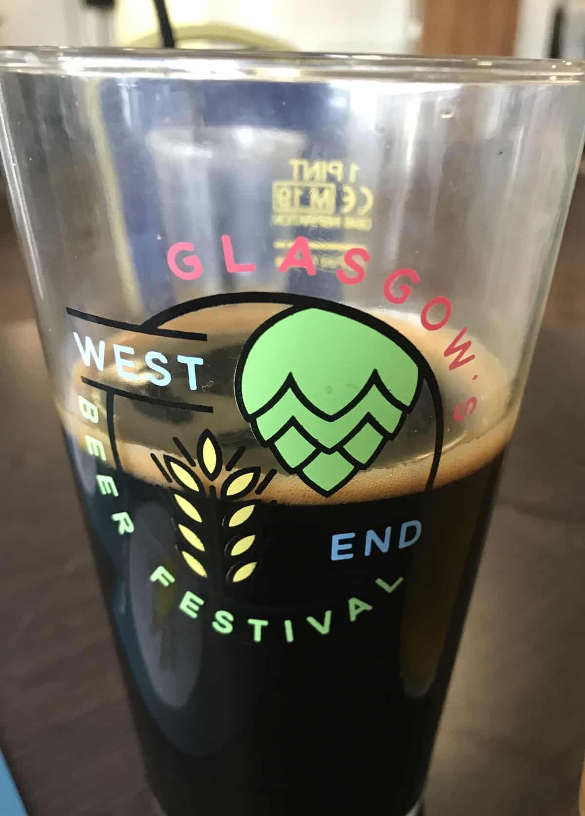 Glasgow west end beer festival