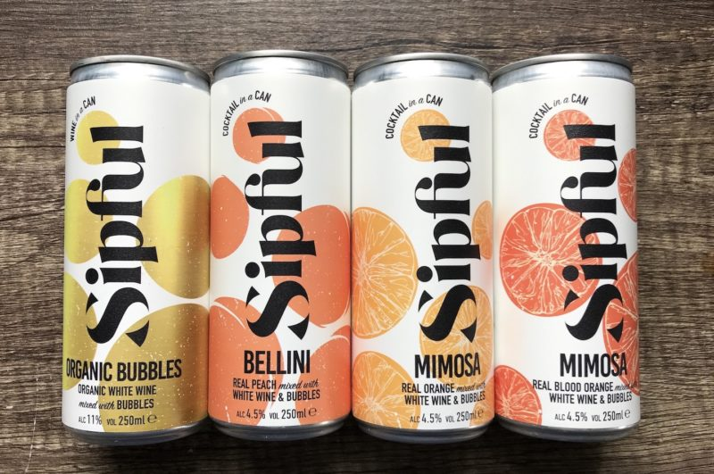sipful drinks cocktails in a can