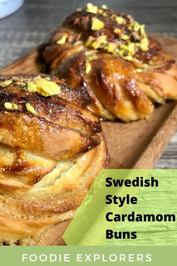 swedish style cardamom buns recipe