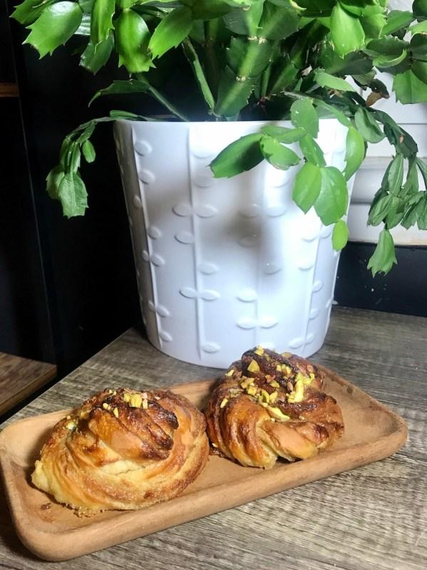 swedish style cardamom buns
