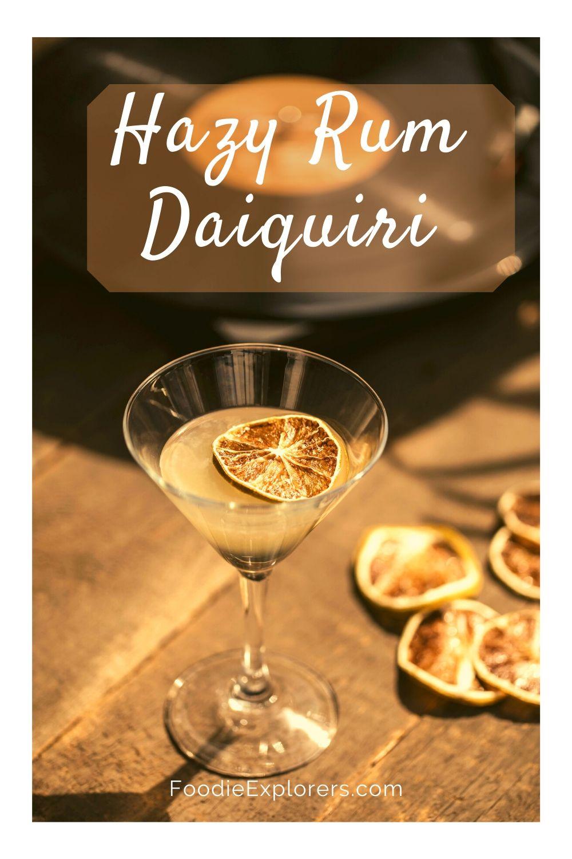 Hazy Rum Daiquiri pinterest