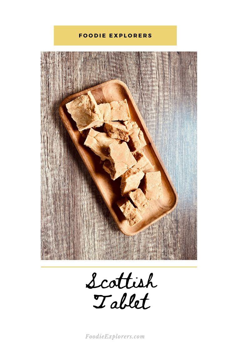 scottish tablet pinterest