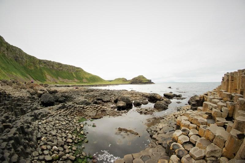 Giant's Causeway fisheye