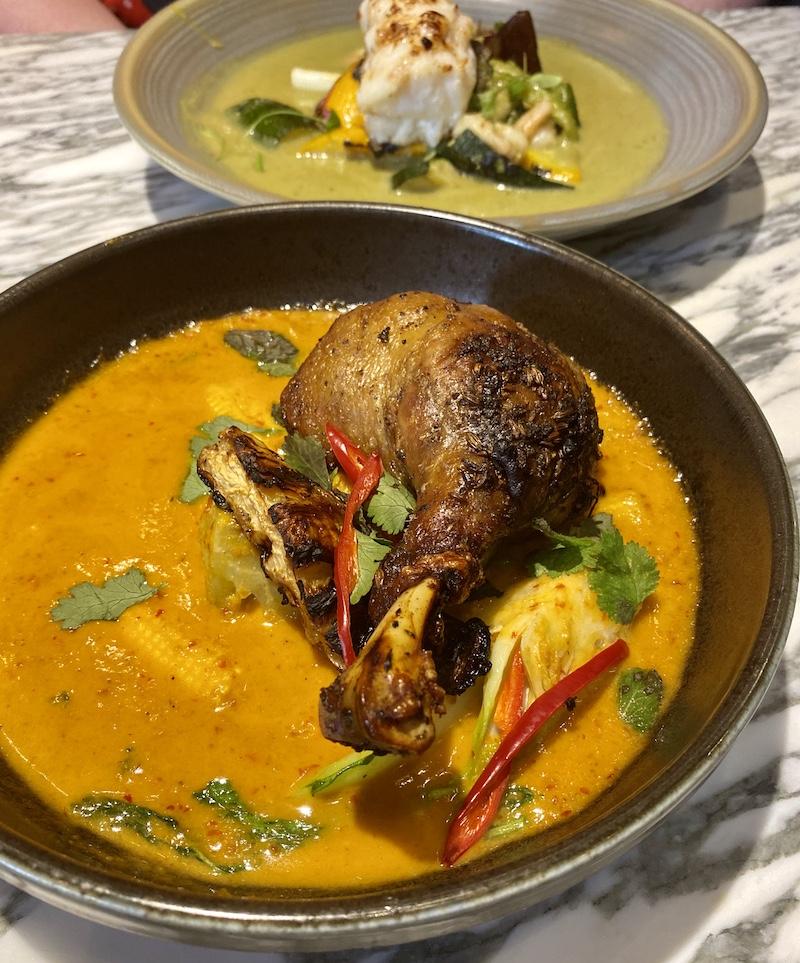 mamasan glasgow thai duck confit