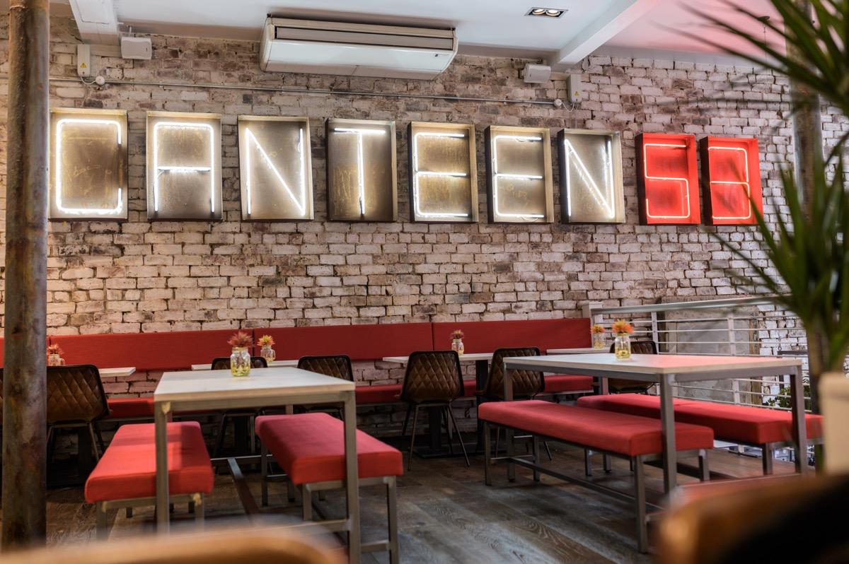 Canteen 58 Ingram street Glasgow
