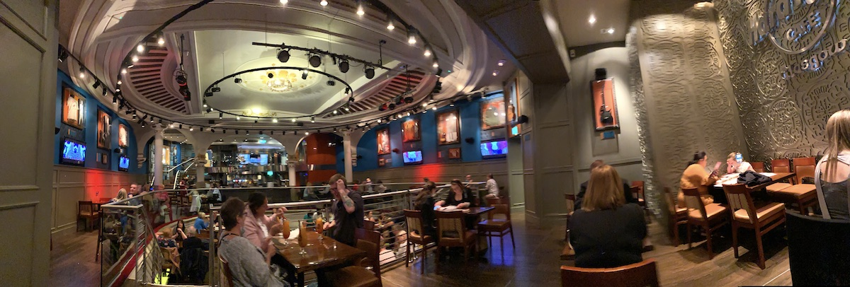 Hard Rock Cafe Festival 2020 inside