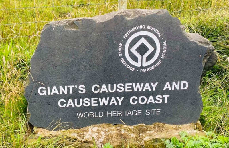 Gian'ts Causeway and Causeway Coast plaque