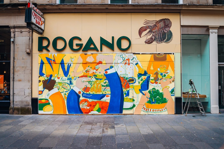 Rogano mural