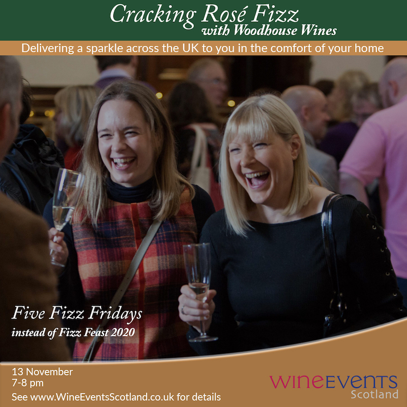 cracking rose wine events scotland