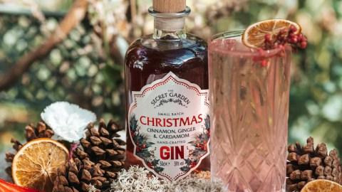 Secret Garden Gin Christmas Perfect Serve