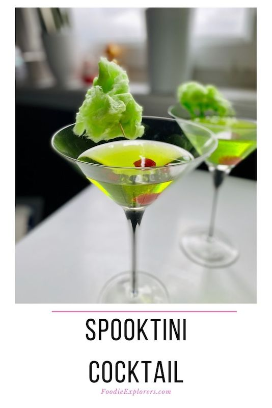 halloween vodka midouri martini spooktini image 3