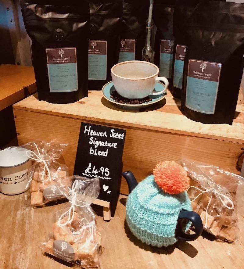 heaven scent milnathort coffee and tea pot