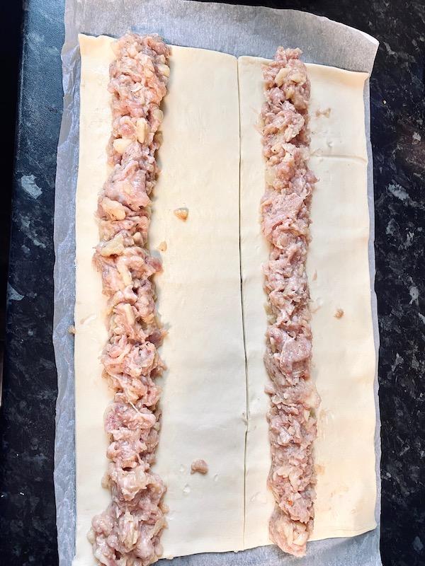 pork sage apple sausage rolls recipe baked