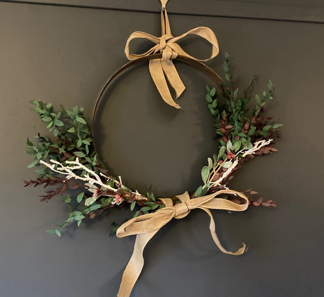 Classbento wreath making class