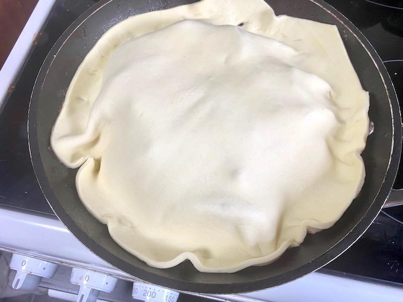 Pastry Beetroot tarte tartin