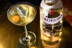 St Andrew's Day Martini with Grapefruit 2