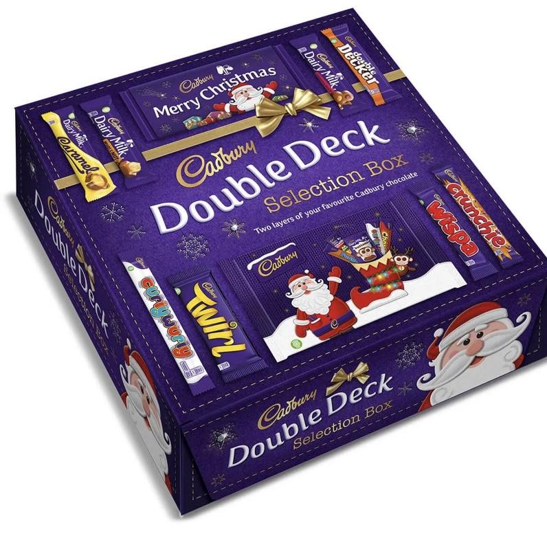 Cadbury double deck selection box