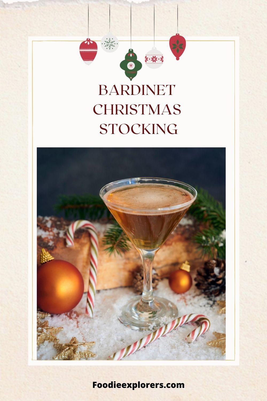 bardinet christmas stocking