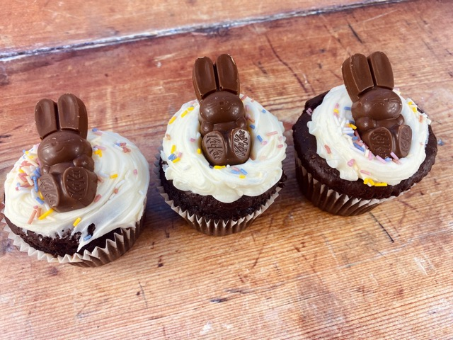 kit kat easter bunny muffin recipe 4