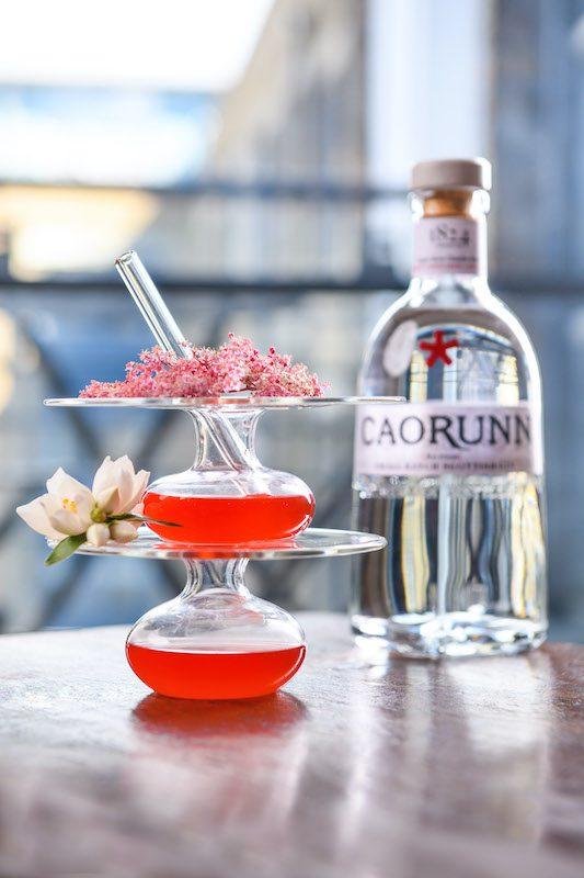 Caorunn Spring Cocktail 1