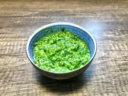 Foraged wild garlic pesto recipe