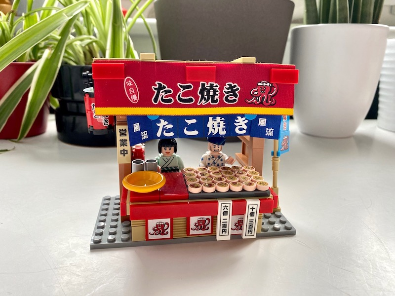 japanese food stand lego