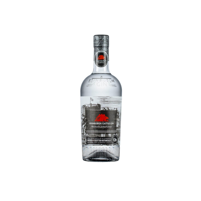 Edinburgh castle gin