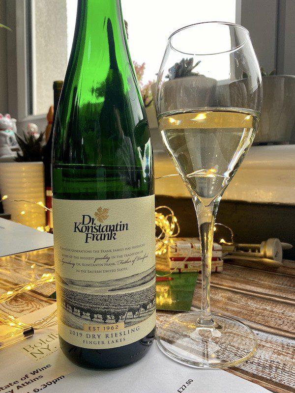 Dr Konstantin Frank New York State wines