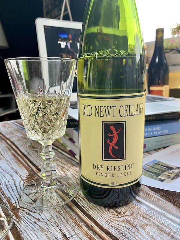 Red Newt Wine Riesling New York State Wine