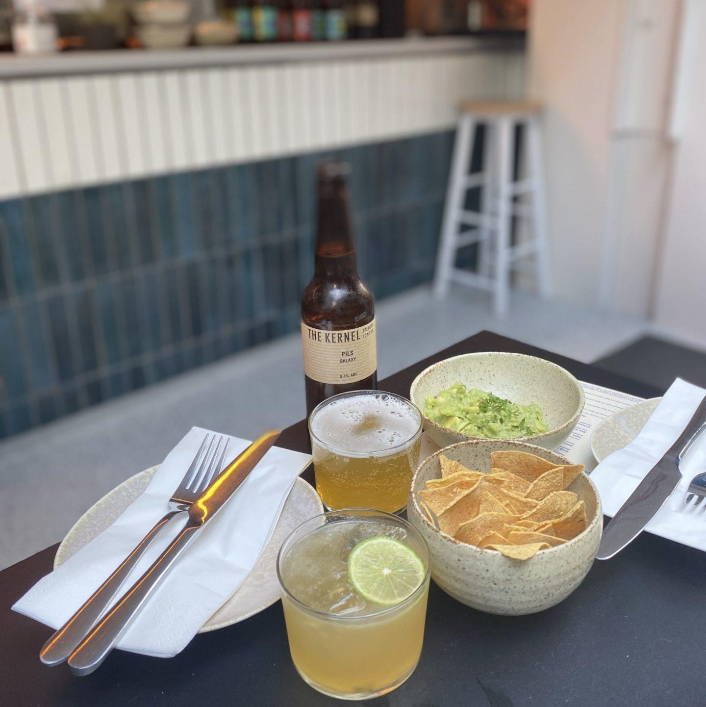 crudo cevicheria guacamole and beer