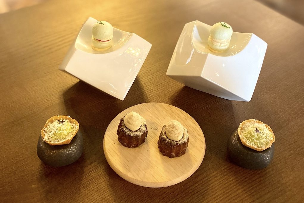 Canapés from Unalome by Graeme Cheevers Glasgow