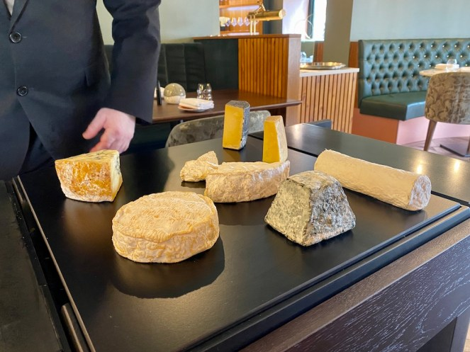 Cheese trolley Unalome by Graeme Cheevers Glasgow