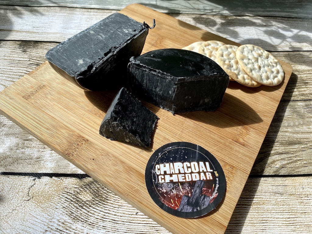 chuckling cheese co charcoal cheese