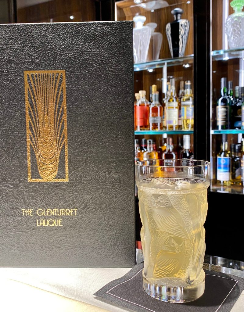the glenturret lalique glenfizz