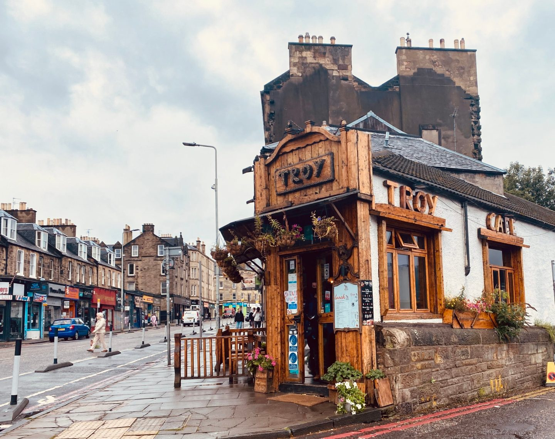 Troy Edinburgh outside