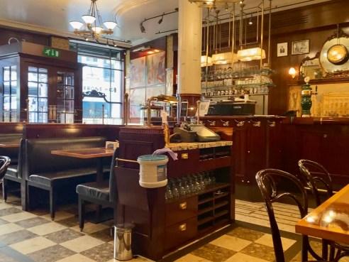 Inside Fischer's Marylebone London