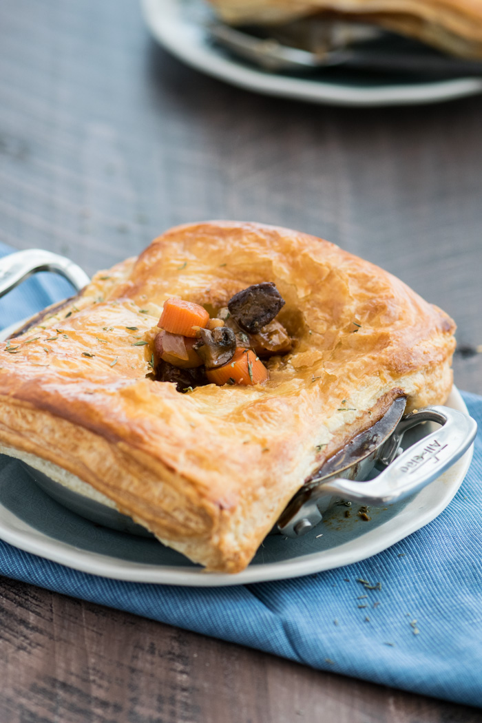 Beef & Stout Pot Pie with Filling