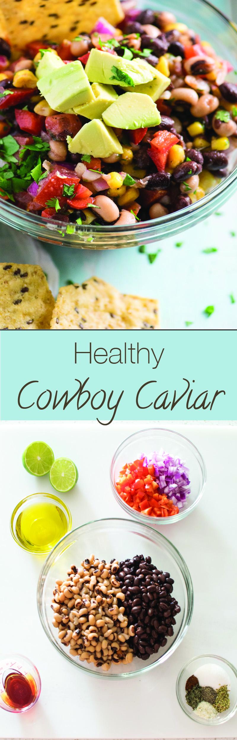 Healthy Cowboy Caviar