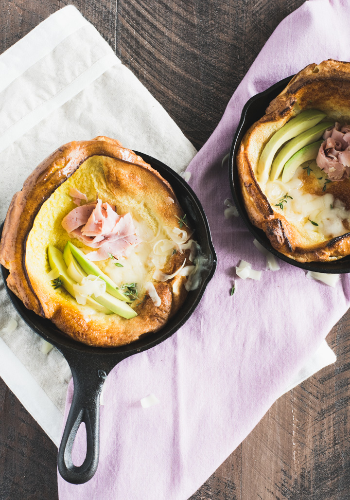 Savory Dutch Baby Pancake