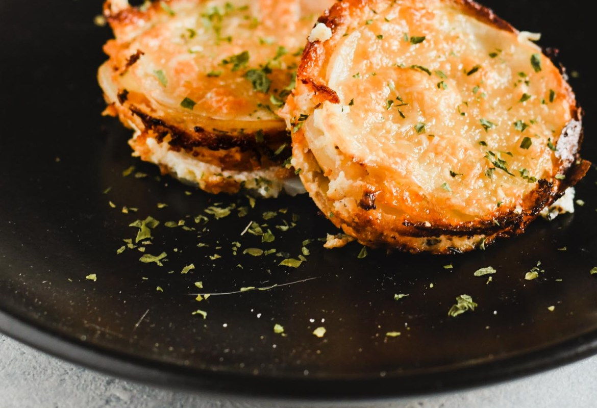 You really can't go wrong when you combine potatoes, ricotta, gruyere, leeks and pancetta. These individual size portions are made in a muffin tin for easy serving, creating a great holiday buffet dish or an appetizer for a cocktail party!