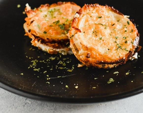Individual Potato Gratins with Leeks & Pancetta