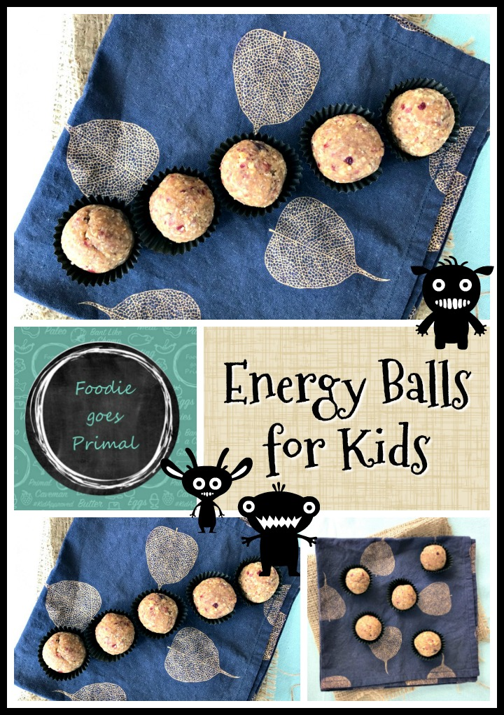 Energy balls for Kids